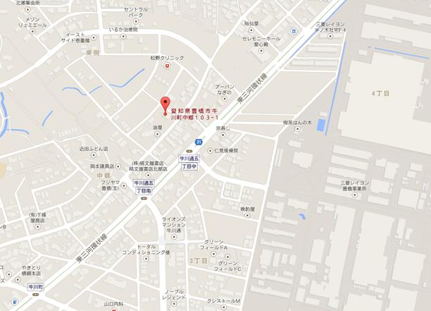 ほっぷ・すてっぷ豊橋地図