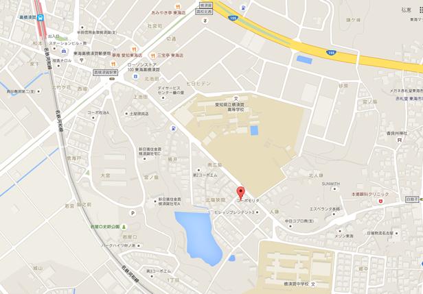 ほっぷ・すてっぷ横須賀地図